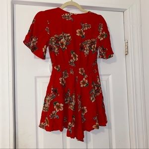 ILLA ILLA Other - red floral romper - size small